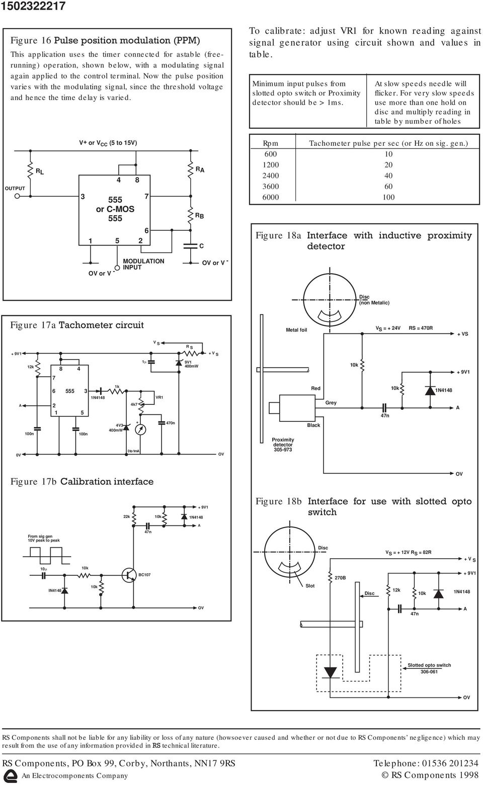 Data Sheet Ic Timers 555 And 556 Features Typical Absolute Step 7 Timer Astable Mode Duty Cycle To Calibrate Adjust V For Known Reading Against Signal Generator Using Circuit Shown Values