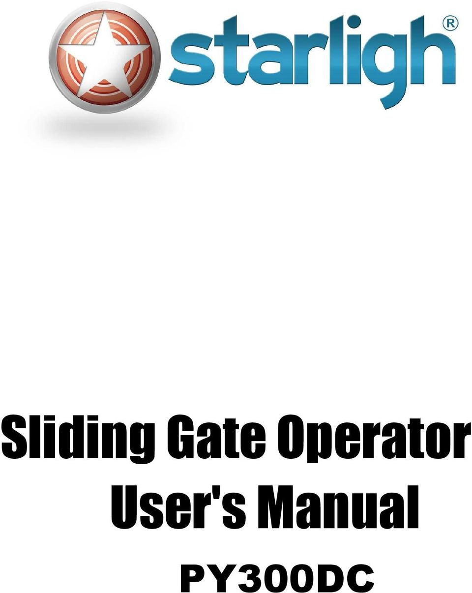 Sliding Gate Operator Users Manual Py300dc Pdf Wiring Diagram Besides Electric Diagrams Mechanical Installation 3 5 Adjustment 6 Wire Connecting 7 Electrical And Control Board 1
