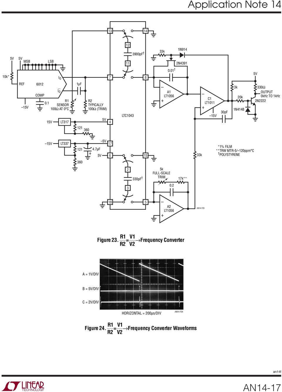 Designs For High Performance Voltage To Frequency Converters Pdf One Transistor Code Lock By 2n2222 2 360 Lt337 47f 7 6 5 33k Film Trw