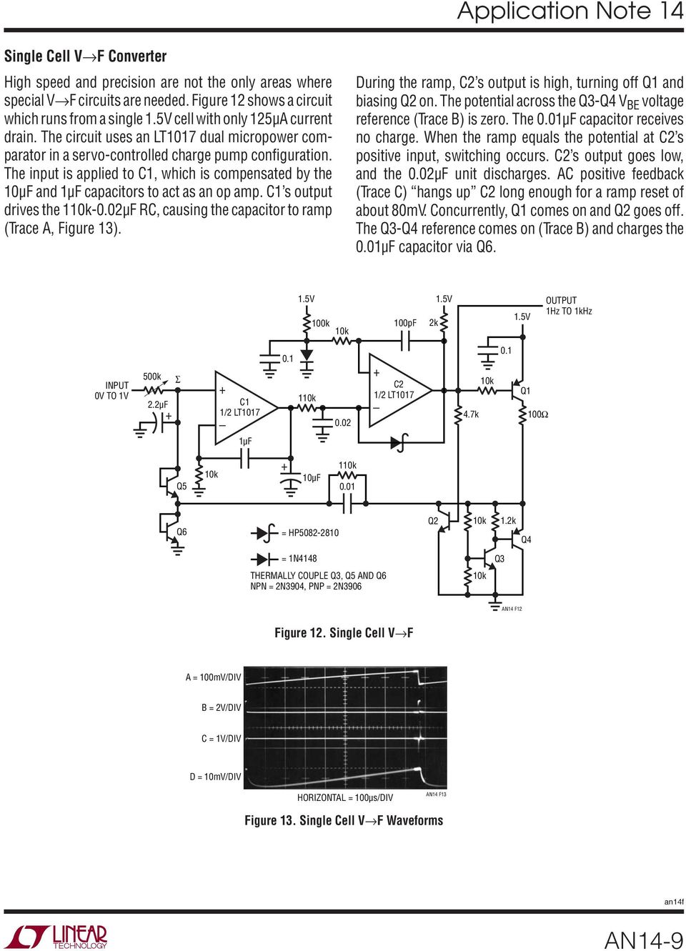 Designs For High Performance Voltage To Frequency Converters Pdf National Lm555 Datasheet Replacement Se555 Ne555 Series And The Connection Diagram C S Output Drives 002f Rc Causing Capacitor Ramp Trace