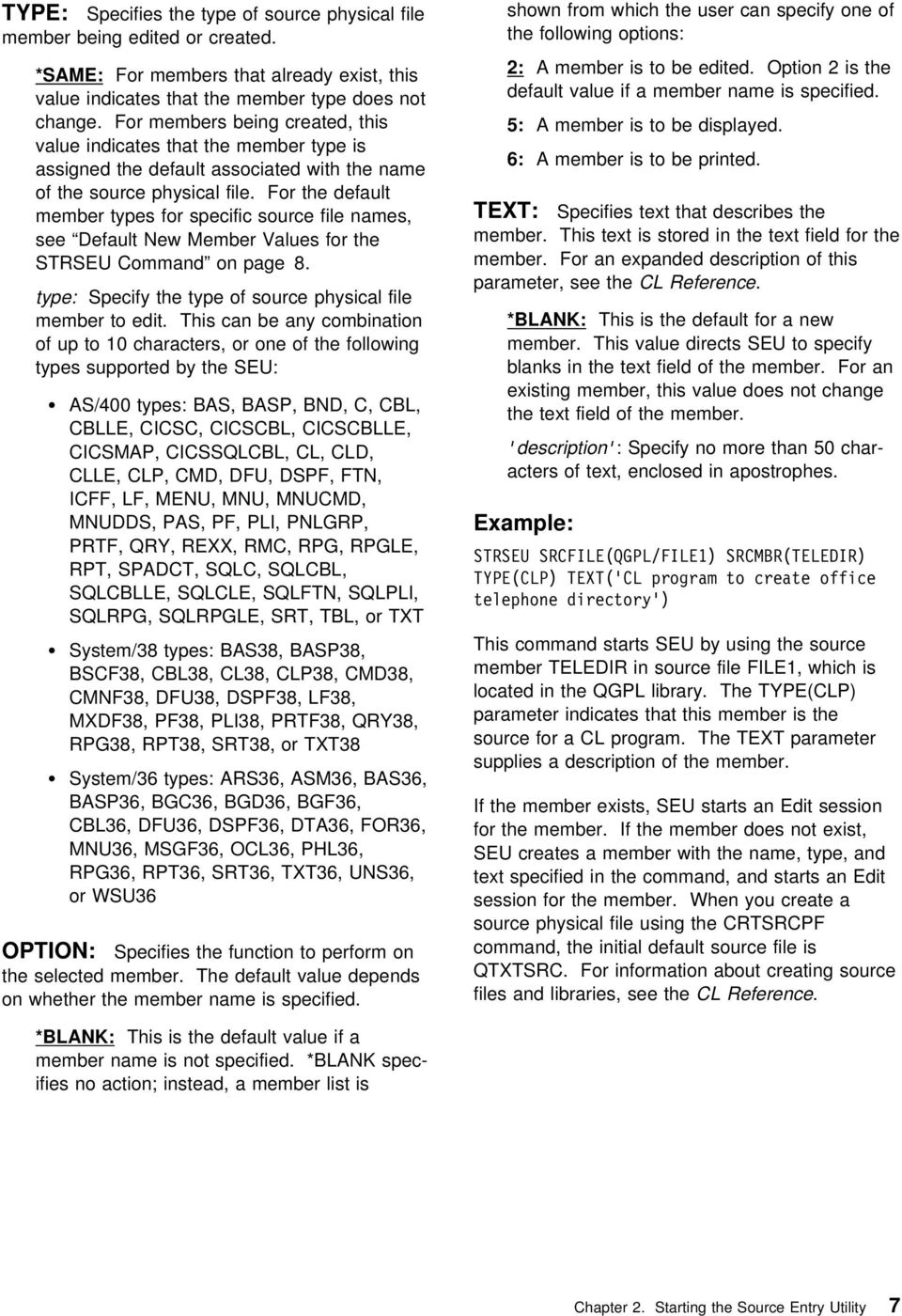 Cl Commands In As400 Pdf