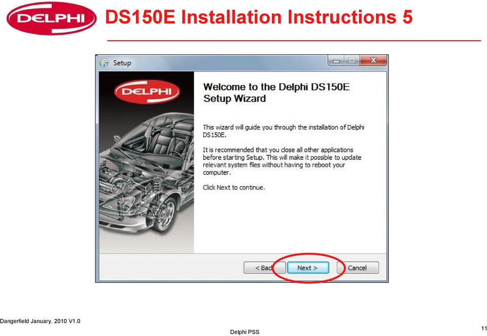 User Guide for DS150E with Win7  Dangerfield January V1 0