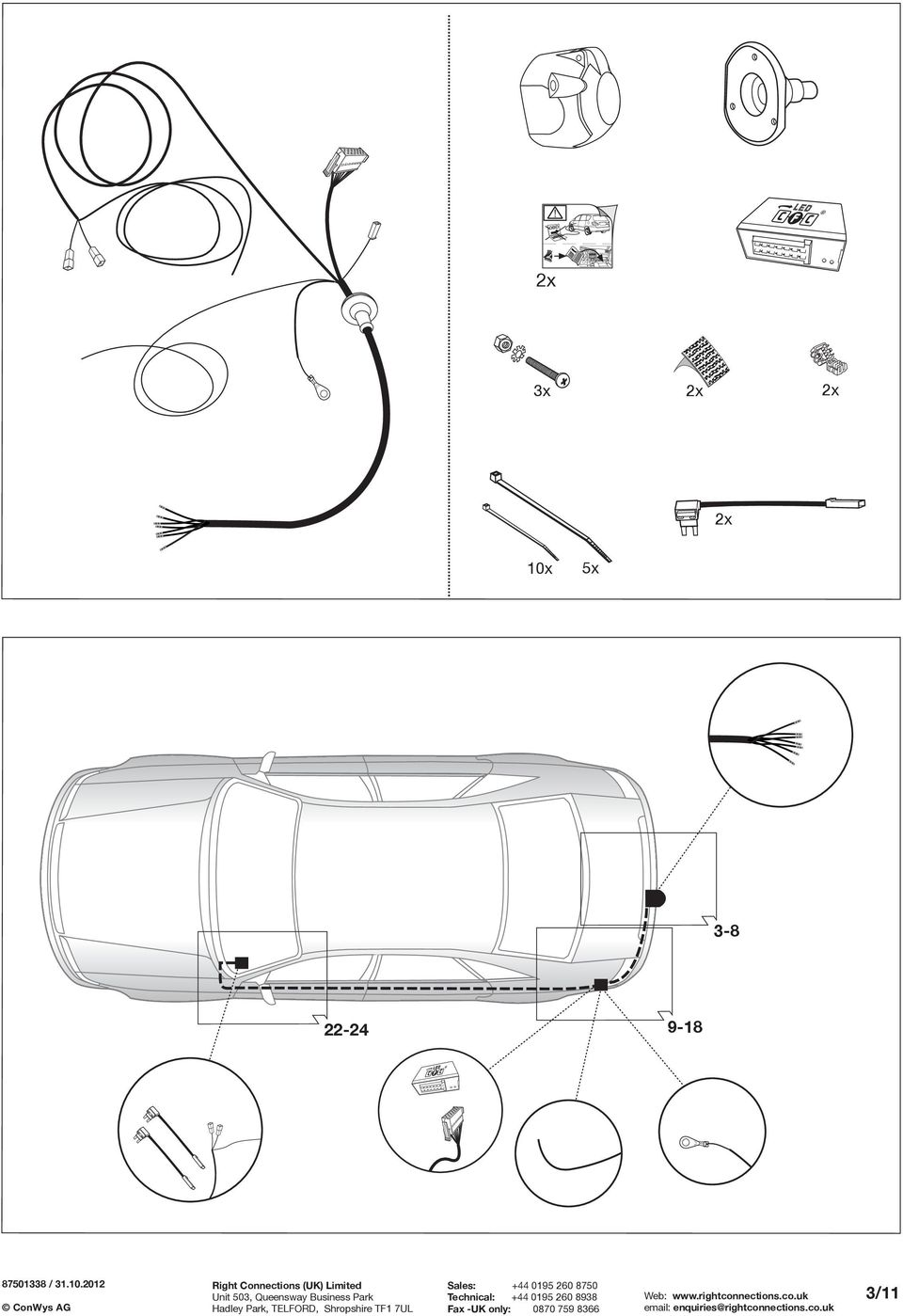 Fitting Instructions Part No Rc Vauxhall Meriva B 06 10 Important Wiring Diagram 2012 Stratoliner S 5x 3 8