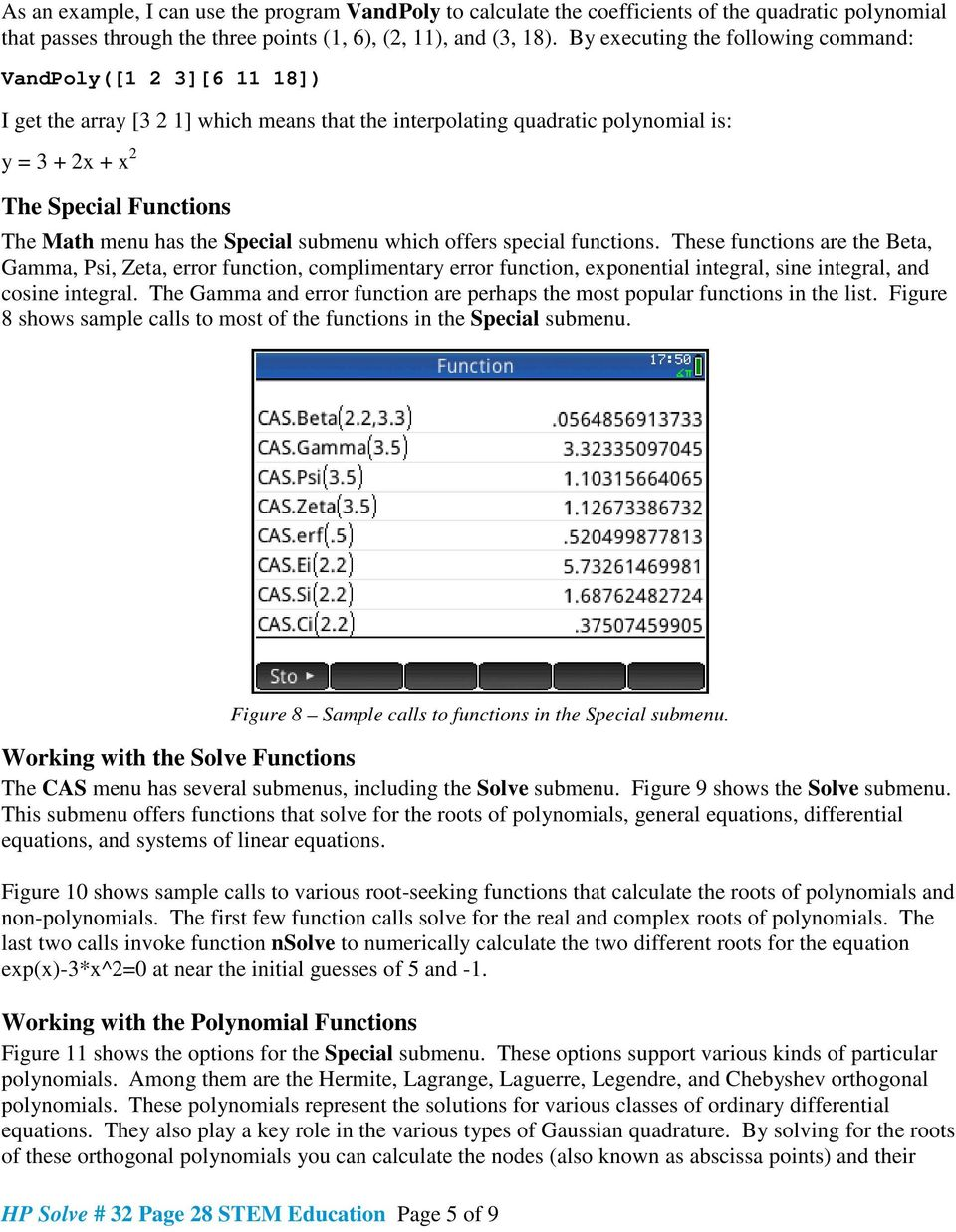 Figure 1 The Probability Functions  - PDF