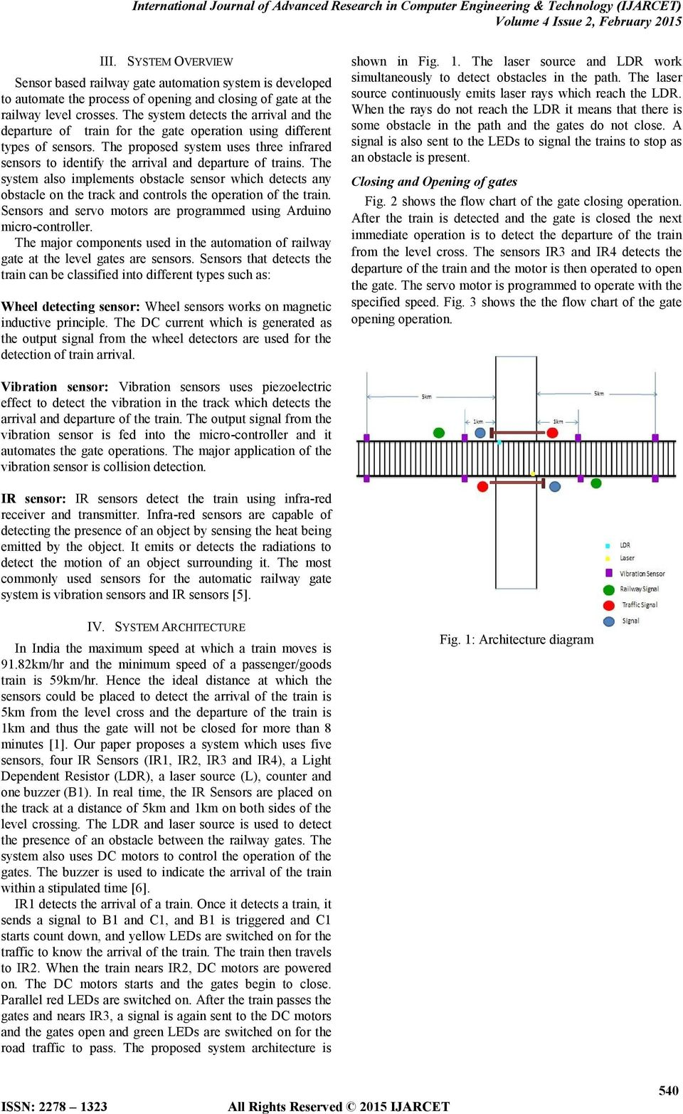 Sensor Based Automatic Control Of Railway Gates Karthik Auto Gate Wiring Diagram Malaysia The Proposed System Uses Three Infrared Sensors To Identify Arrival And Departure Trains