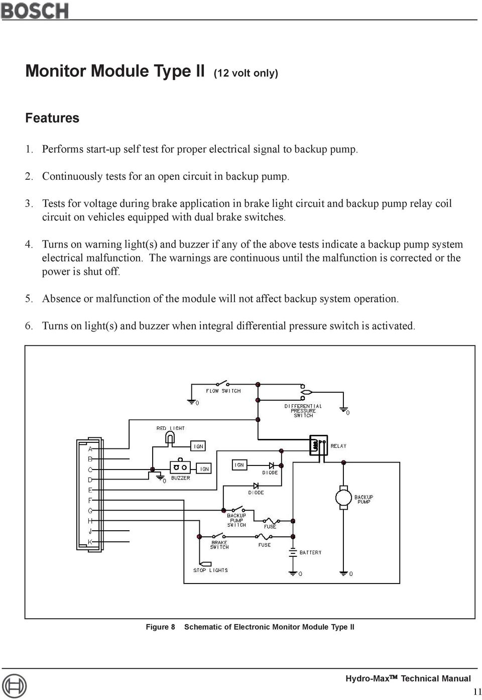 Toyota RAV4 Service Manual: Brake switch b circuit high