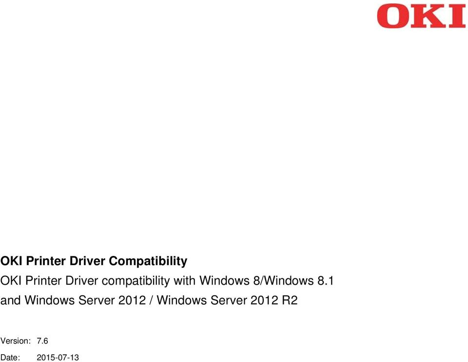oki c5600 windows 7 driver download