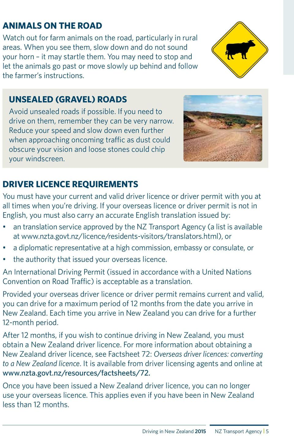 DRIVING IN NEW ZEALAND - PDF