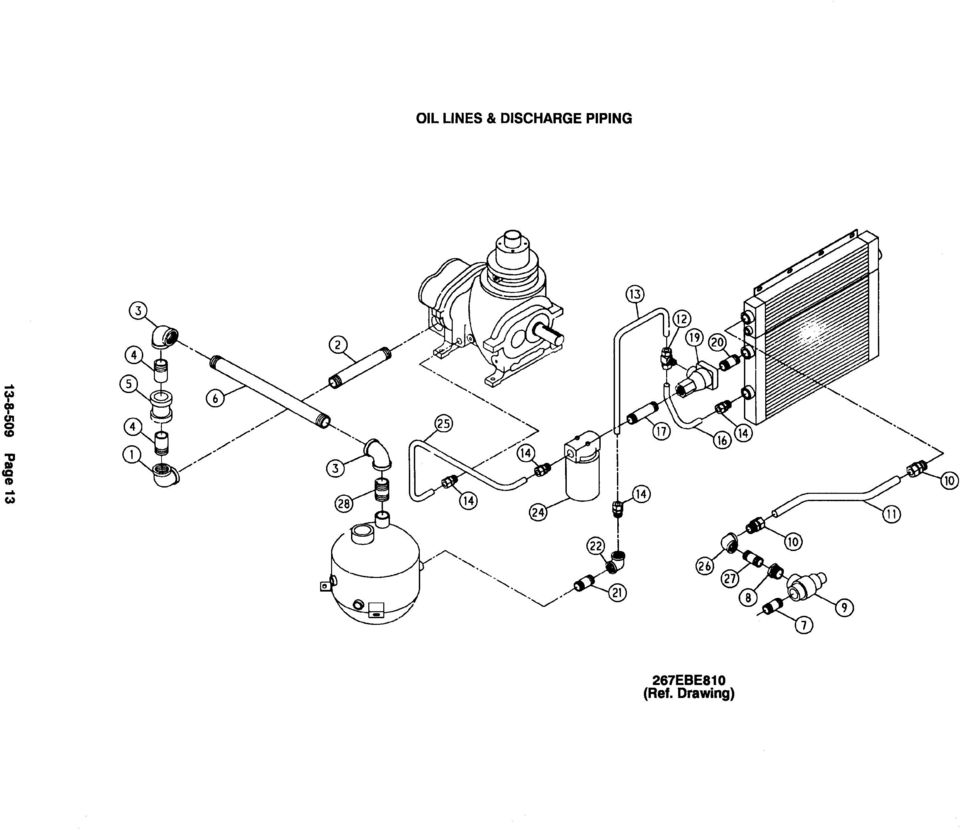 gardner denver compressors parts list models ebe_df 15 hp ebe ef16 order by part number and description reference numbers for your convenience only no name of part qty part no no name of part qty part no