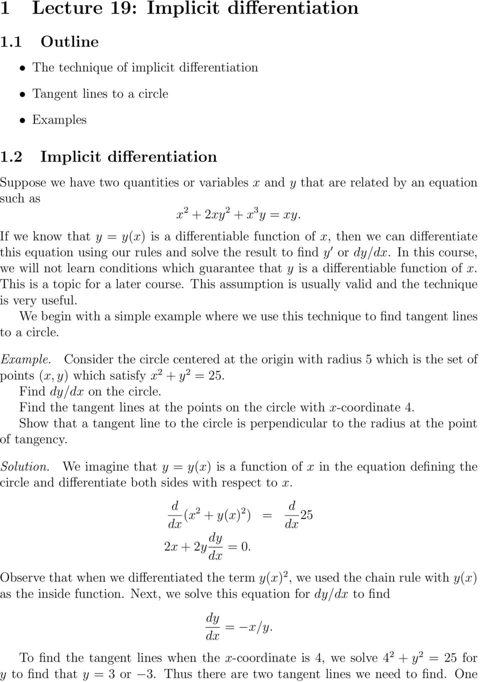 integration of implicit functions pdf