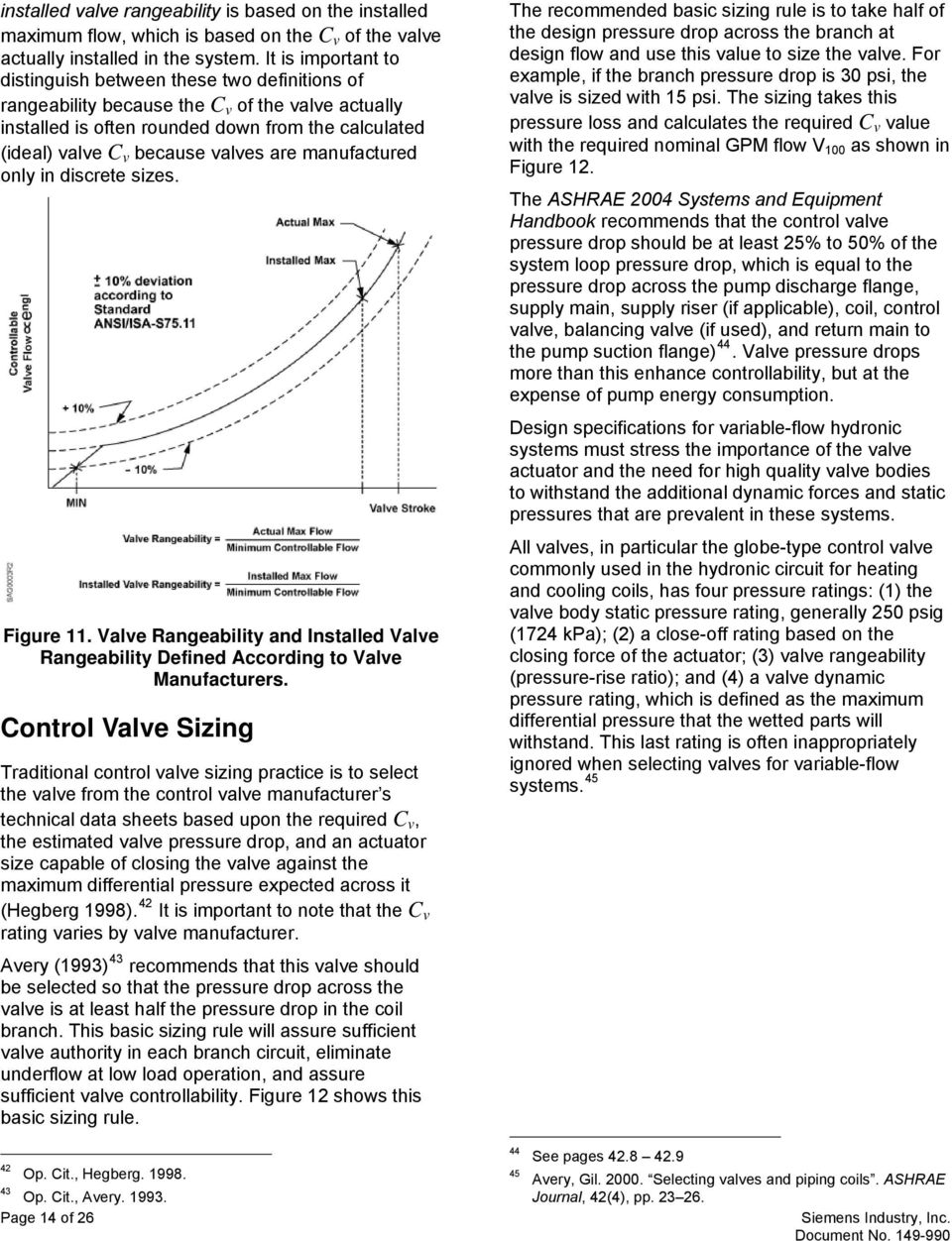 Balancing Variable-flow Hydronic Systems  Self-Balancing