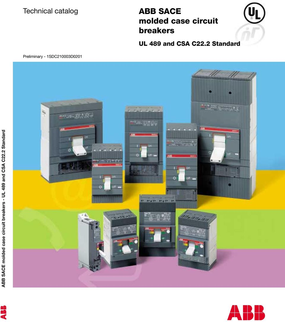 ABB SACE molded case circuit breakers - PDF