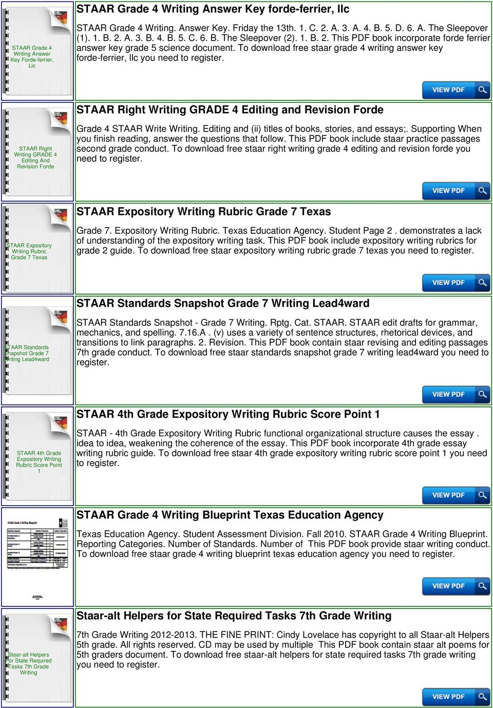 4th Grade Staar Writing Lined Paper - PDF