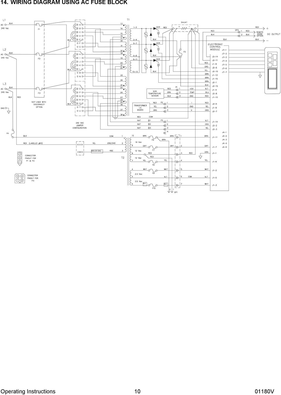 Load Hog 480 Volt Charger Wiring Diagrams Real Diagram 277v Loadhog Three Phase Battery Pdf Rh Docplayer Net Single Lighting 277