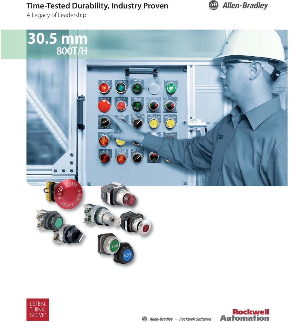 305 Mm 800t H Specialty Devices Imitated But Never Duplicated 4 Way Push Button Switch Proven A Legacy Of Leadership Momentary Wobble Stick Selector 1 2 3 Toggle Switches