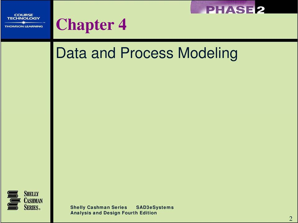 Systems Analysis  Data and Process Modeling - PDF