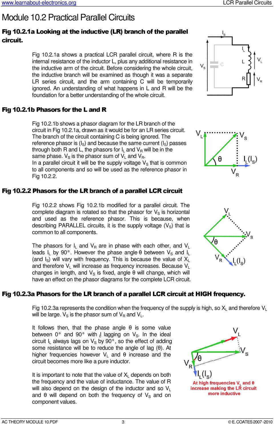 Lcr Parallel Circuits Pdf What Are An Understanding Of Happens In L And R Will Be The Foundation For A Better