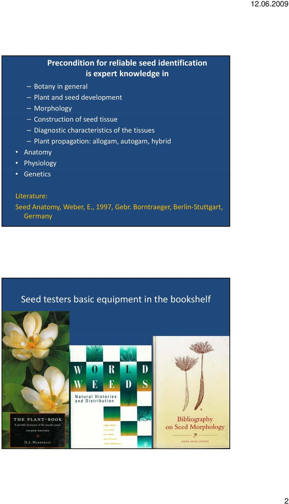 Tools for seed identification - PDF