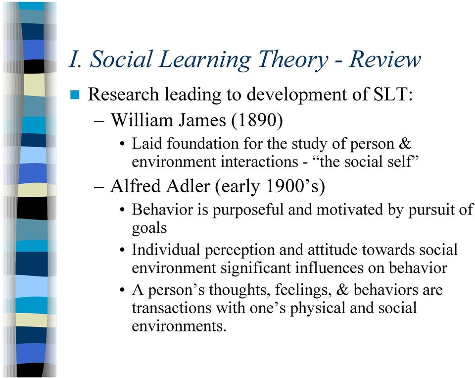 social learning theory of development