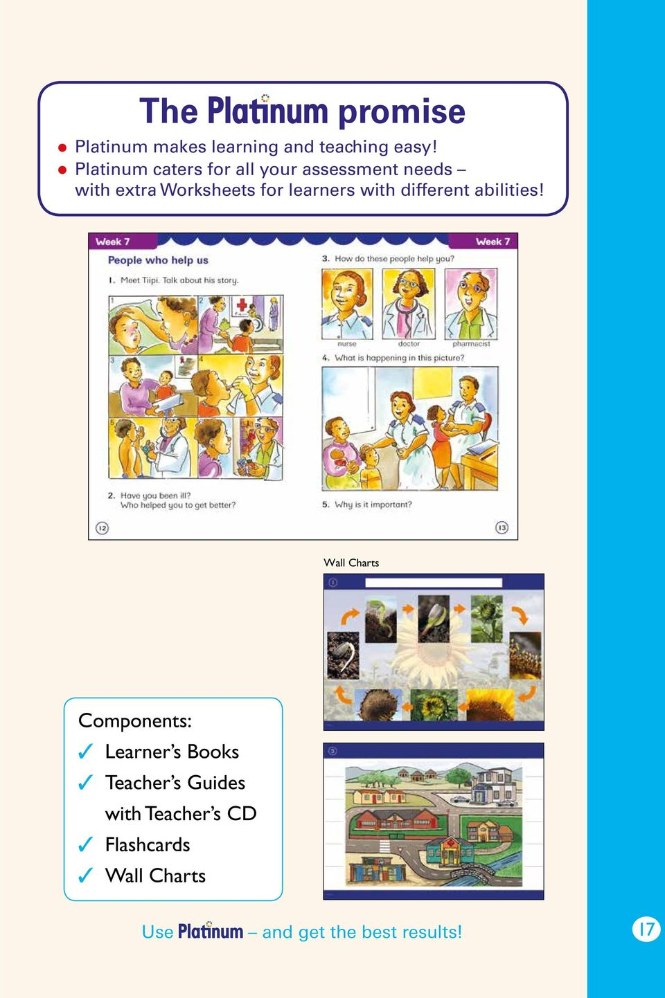 Worksheets for learners with different abilities!