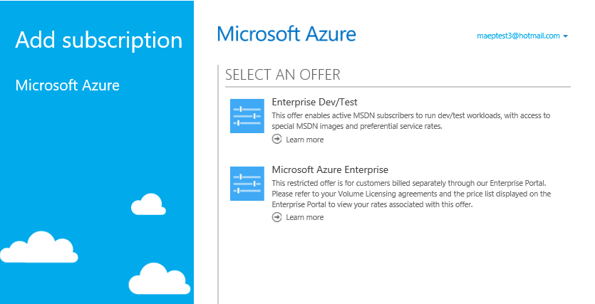 Onboarding Guide To The Microsoft Azure Enterprise Portal Direct