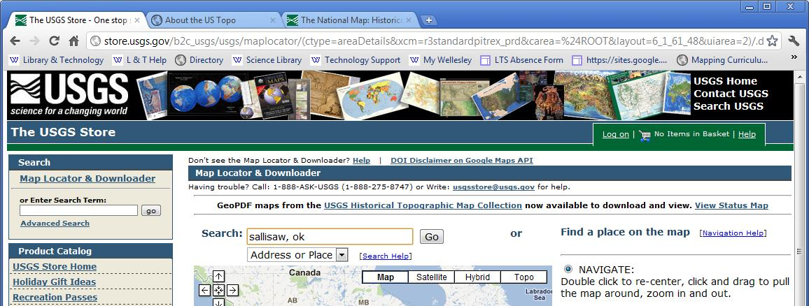 Downloading & Printing USGS Topographic Maps - PDF