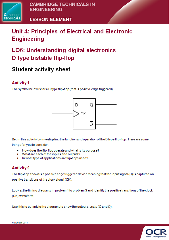 Unit 4: Principles of Electrical and Electronic Engineering - PDF