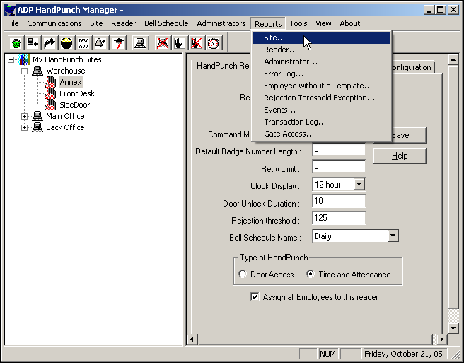 ADP HandPunch Manager User s Guide - PDF