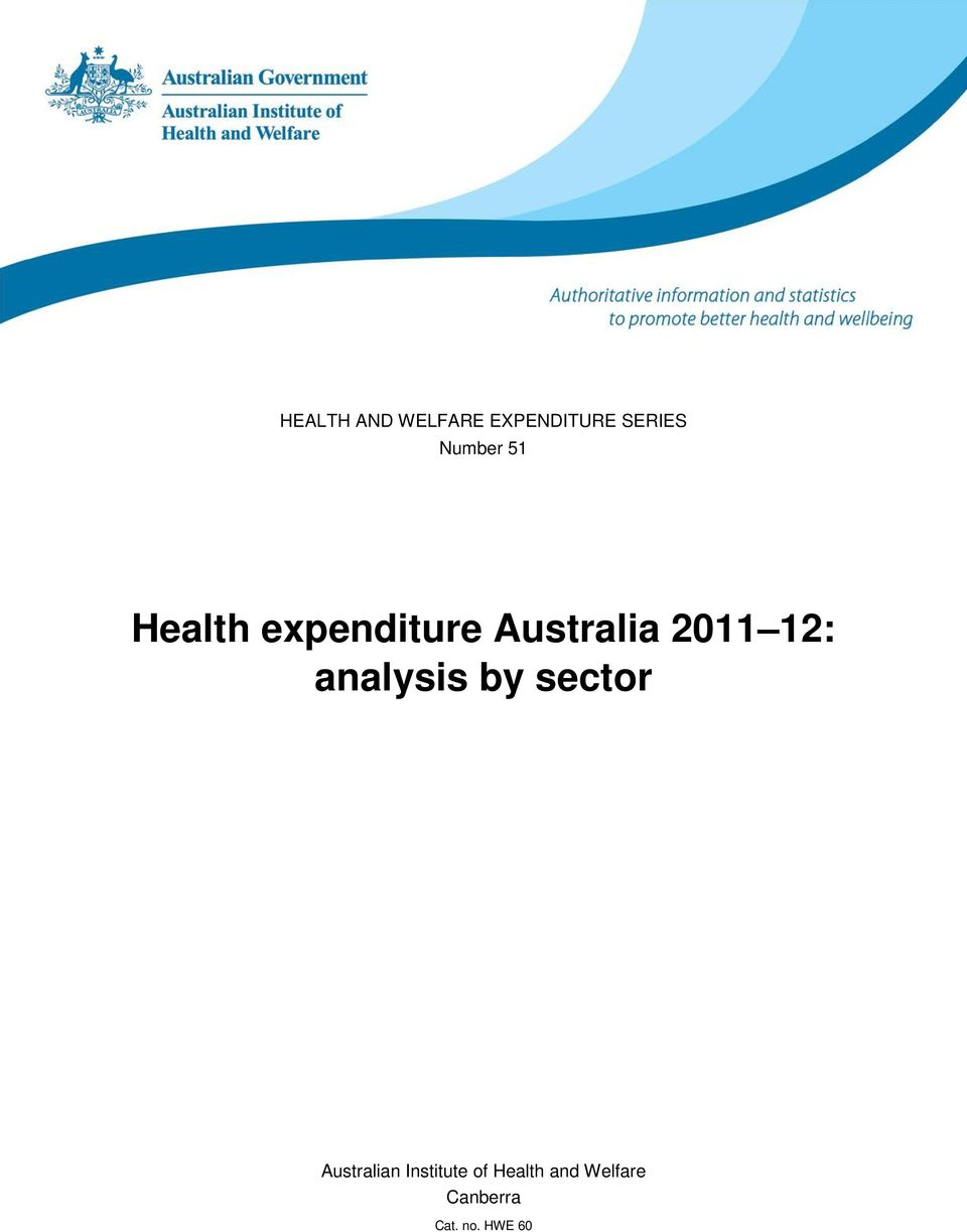 2011 12: analysis by sector Australian