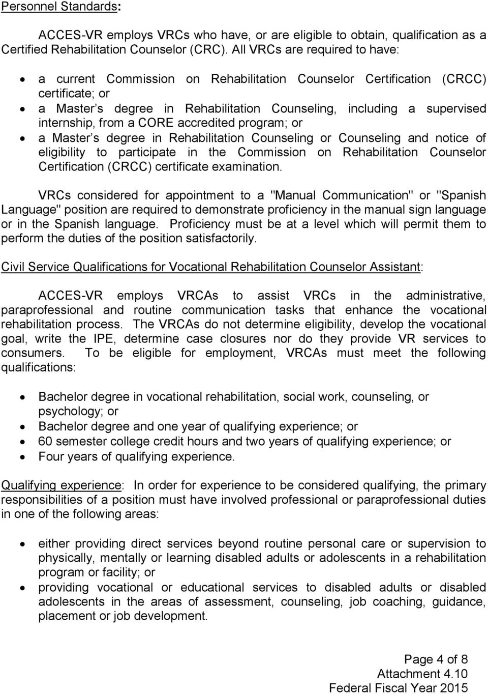 Comprehensive System Of Personnel Development Cspd Attachment Pdf