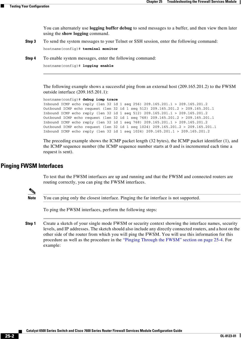 Troubleshooting the Firewall Services Module - PDF