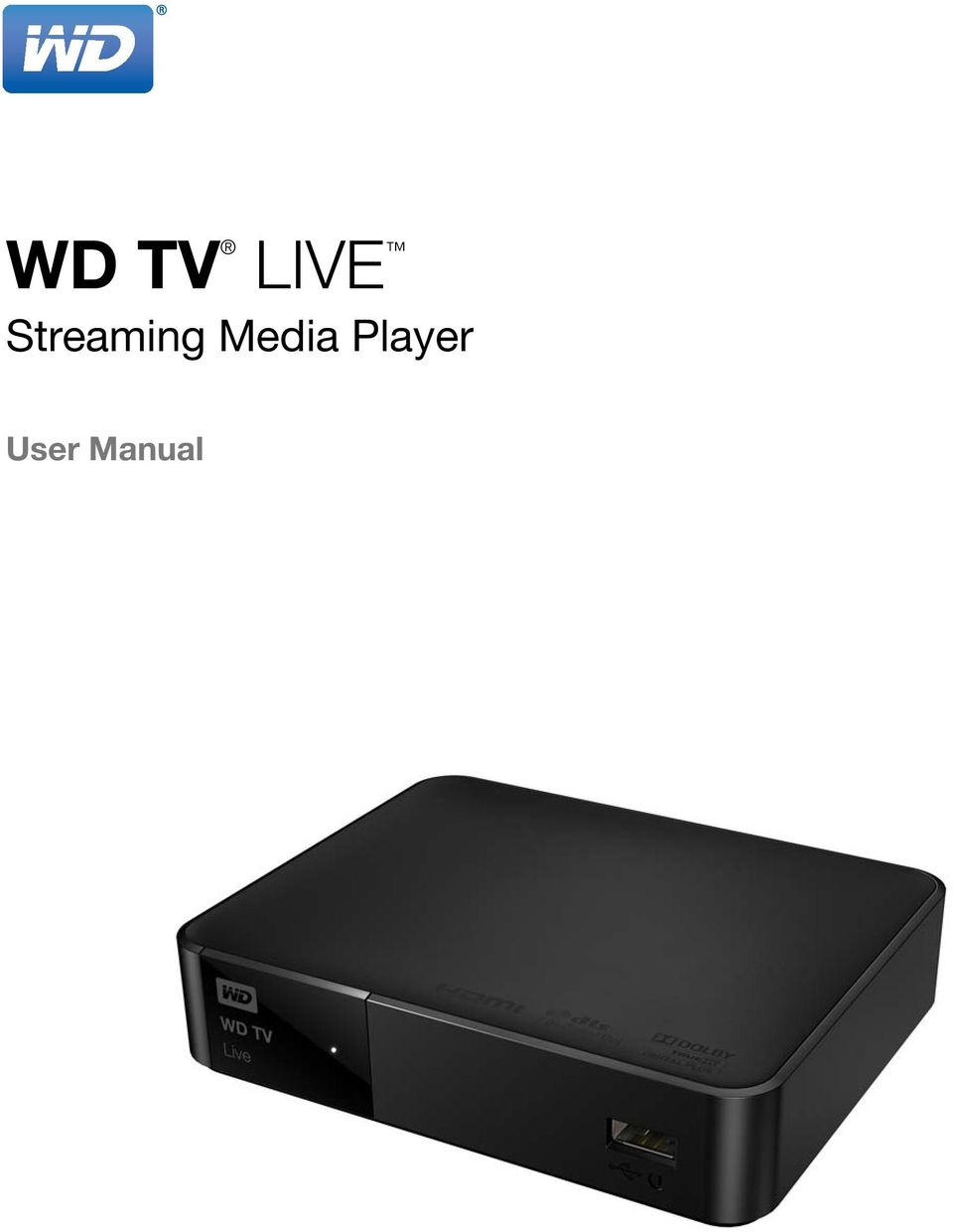 WD TV  LIVE Streaming Media Player  User Manual - PDF