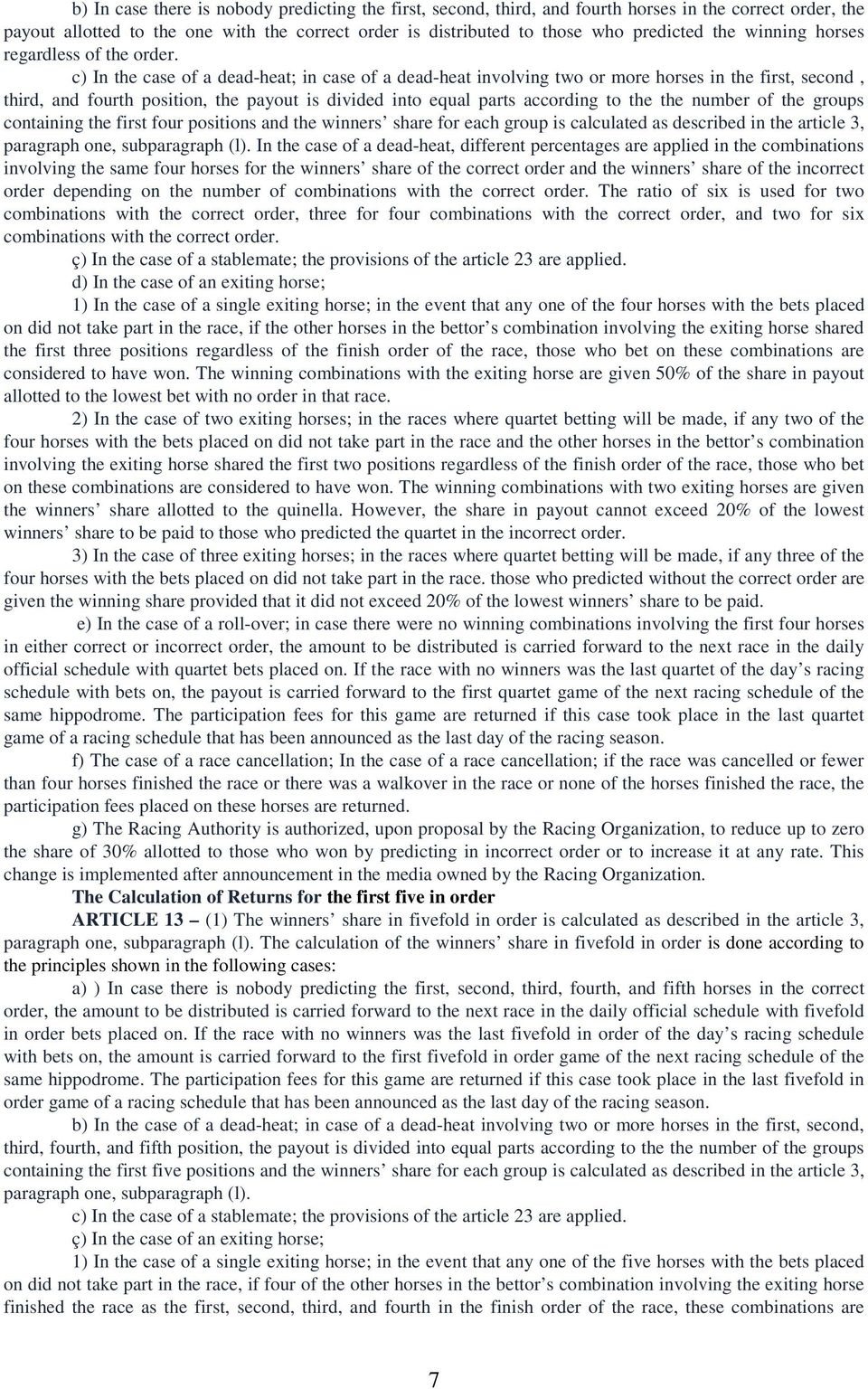 Victorian totalisator betting rules for holdem rules of sports betting in vegas
