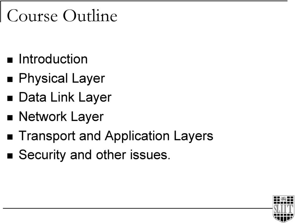 Network Layer Transport and