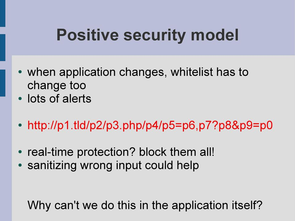 p8&p9=p0 real-time protection? block them all!
