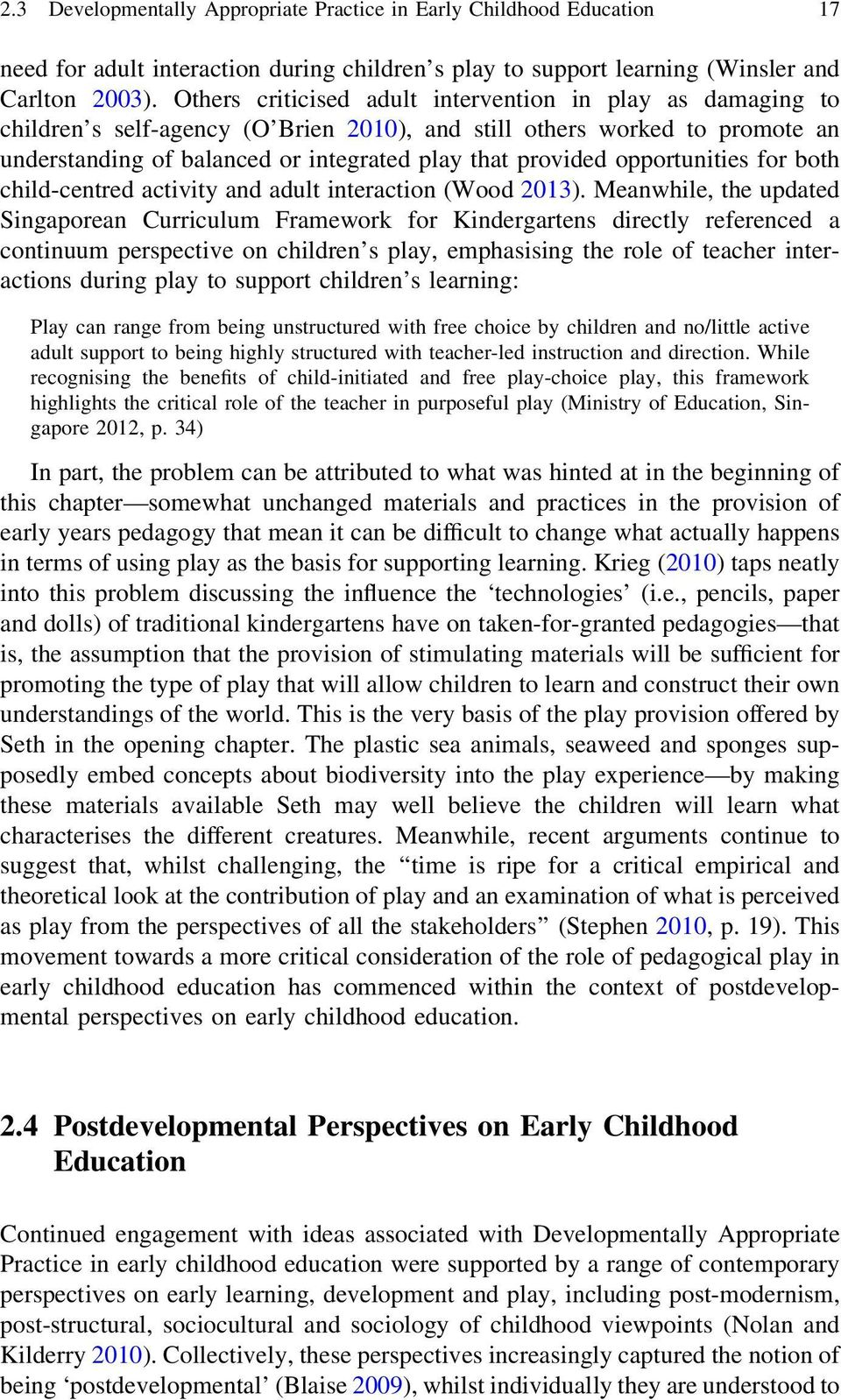 Chapter 2 Play-Based Learning in Early Childhood Education - PDF