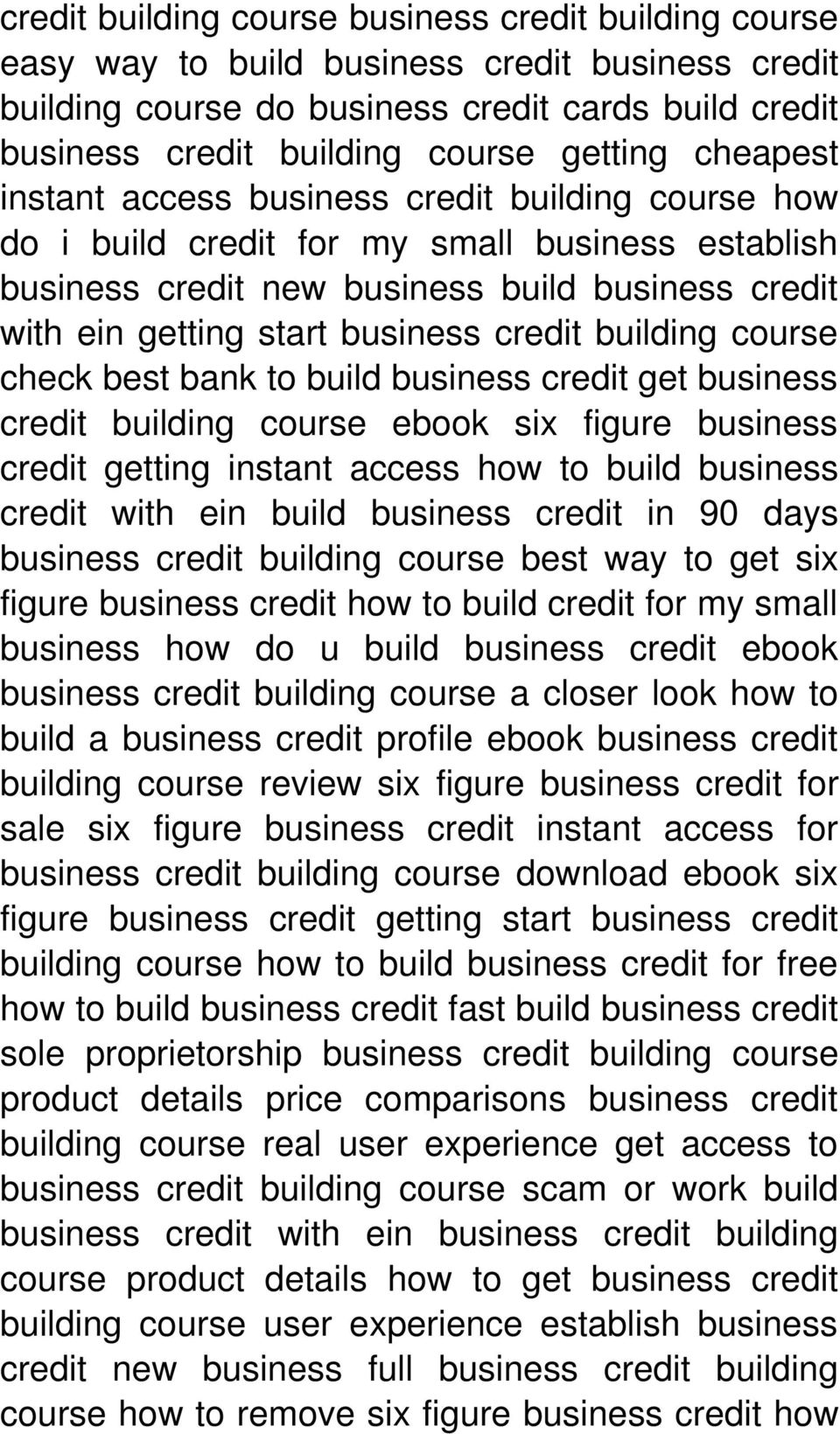 building course check best bank to build business credit get business credit building course ebook six figure business credit getting instant access how to build business credit with ein build