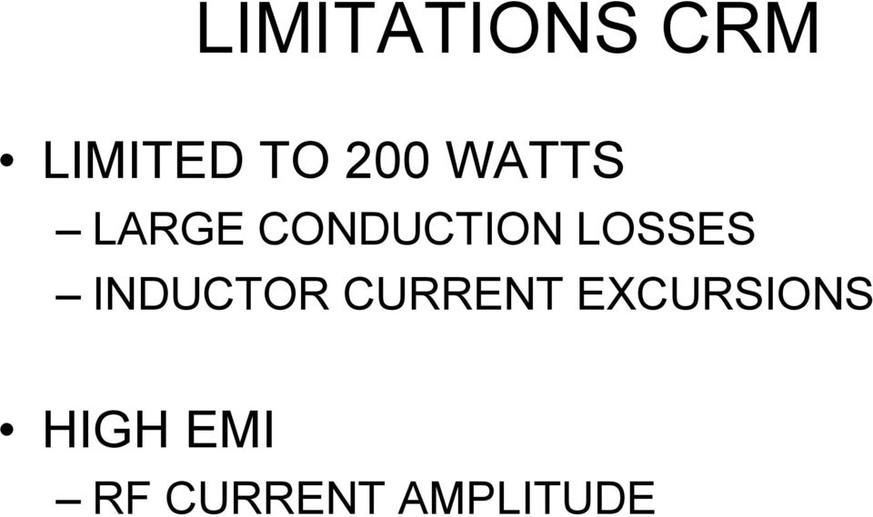 LOSSES INDUCTOR CURRENT