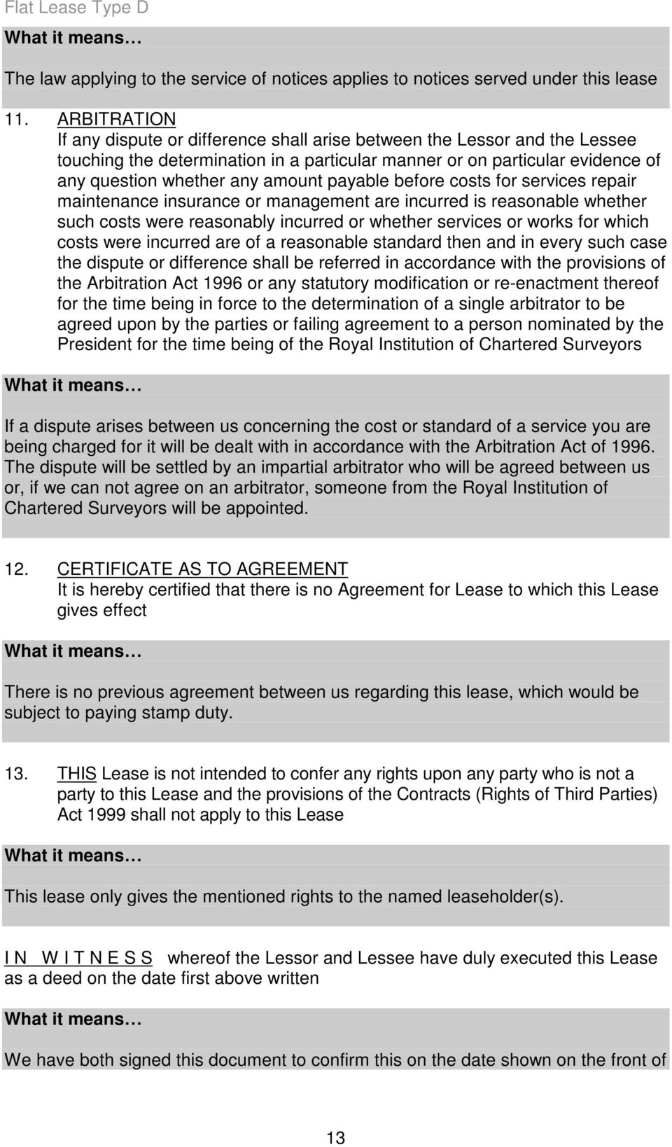Your Lease Is The Legal Agreements Made Between You And The Council