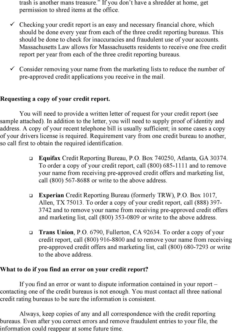 Credit Card Identity Theft Prevention Tips Pdf Free Download