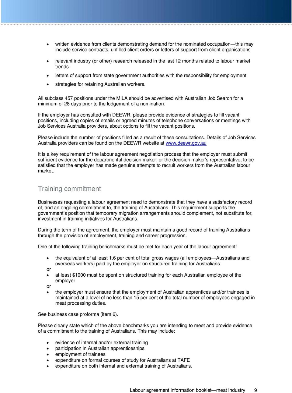 Meat Industry Labour Agreements Pdf