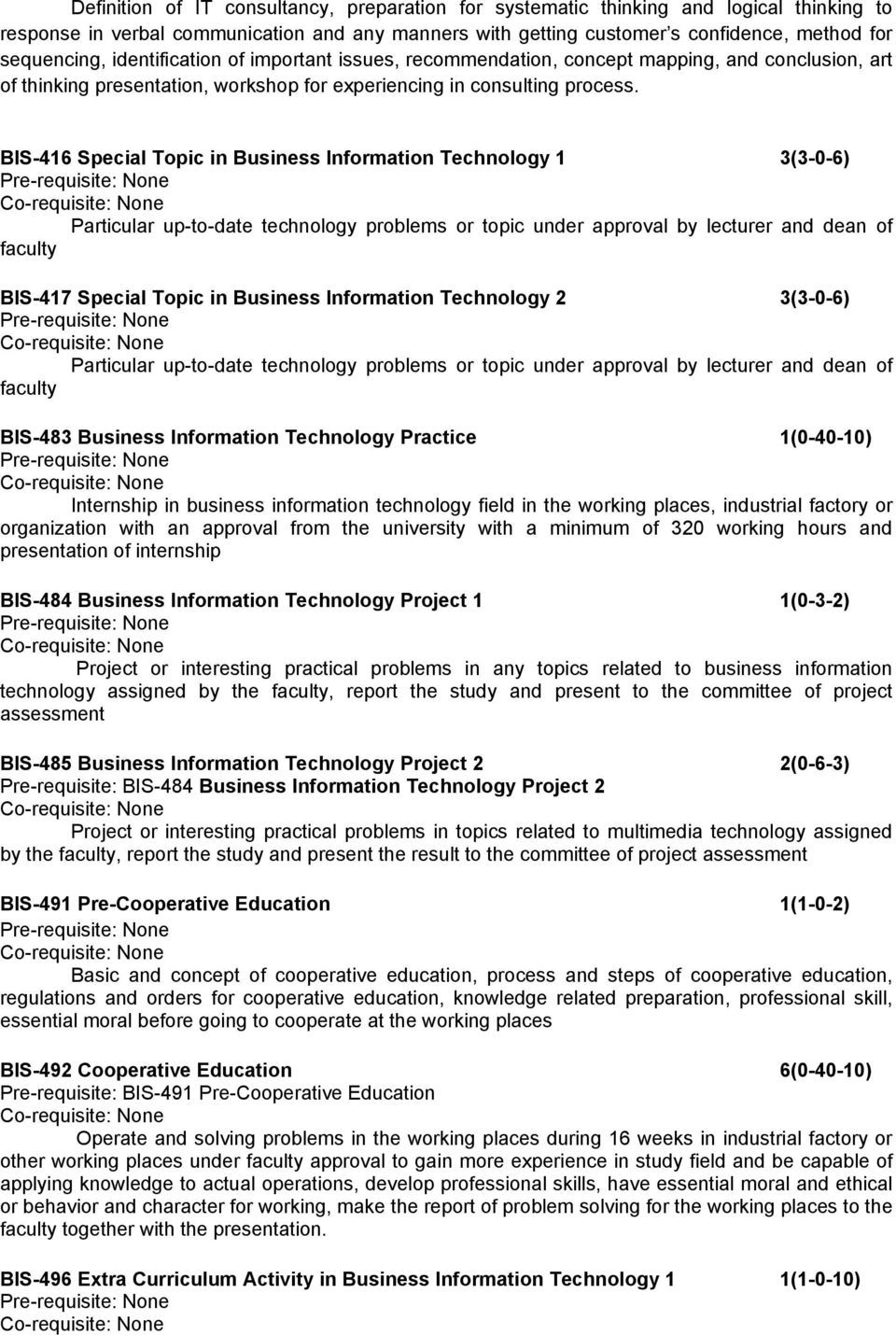 interesting information technology topics
