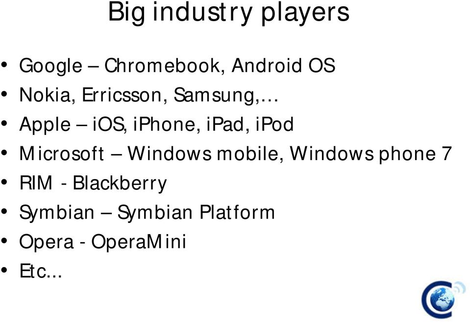 Industry Analysis of the Nigerian Mobile Technology