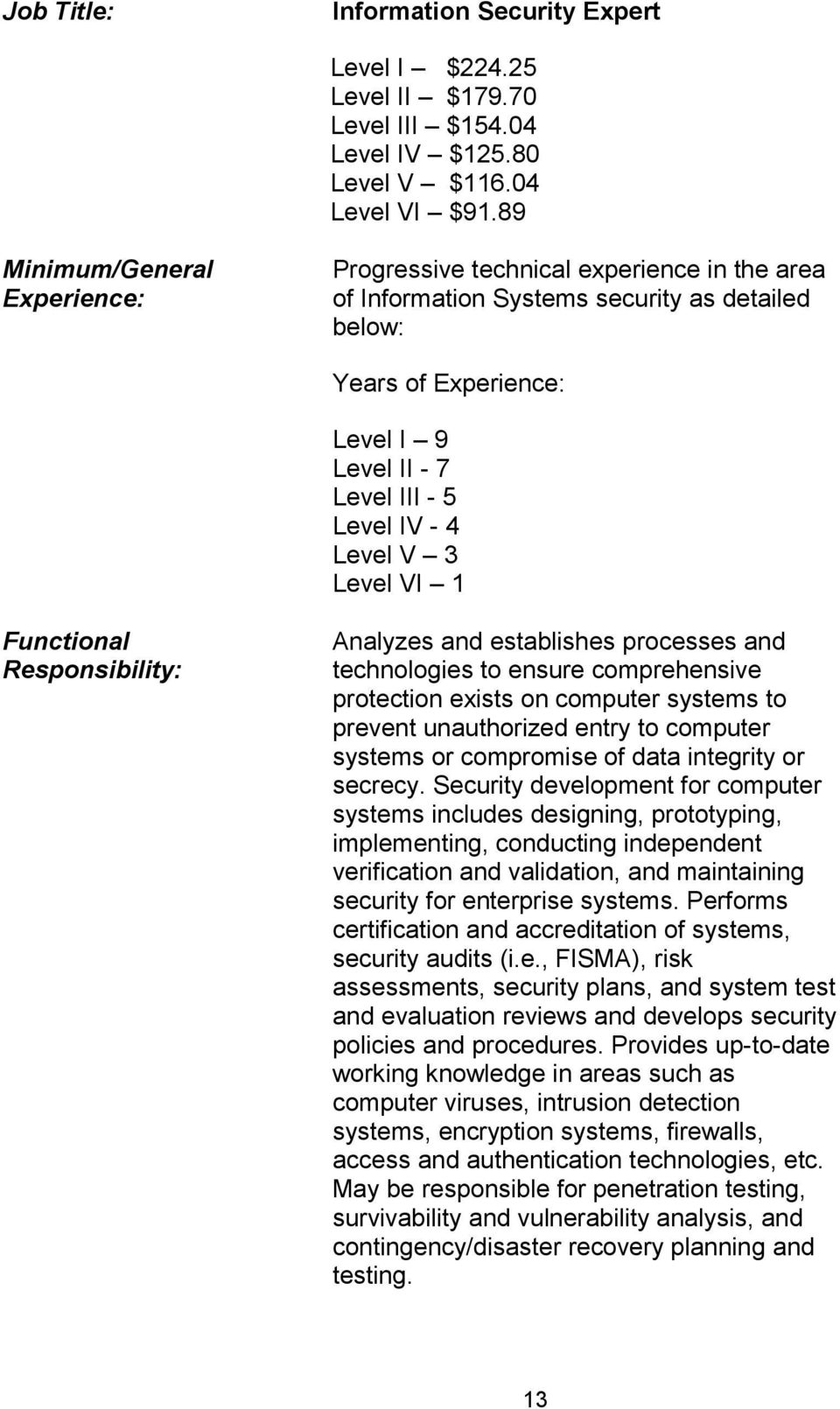 establishes processes and technologies to ensure comprehensive protection exists on computer systems to prevent unauthorized entry to computer systems or compromise of data integrity or secrecy.