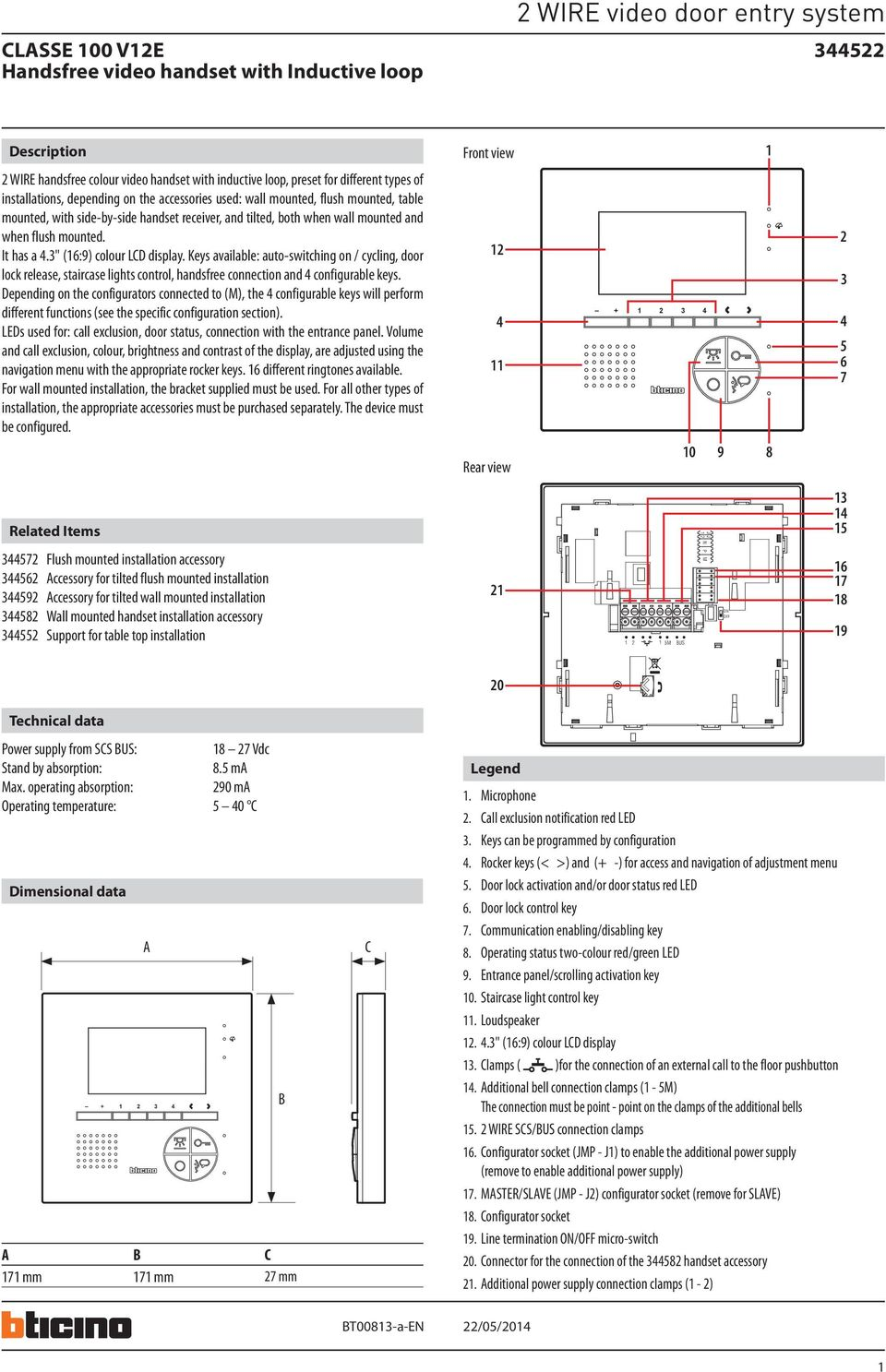 2 Wire Video Door Entry System Pdf