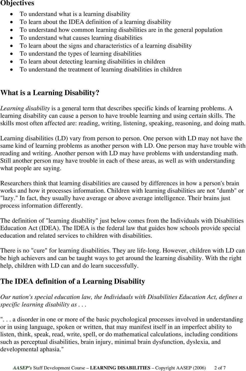 Is Special Education In Trouble >> Staff Development In Special Education Pdf