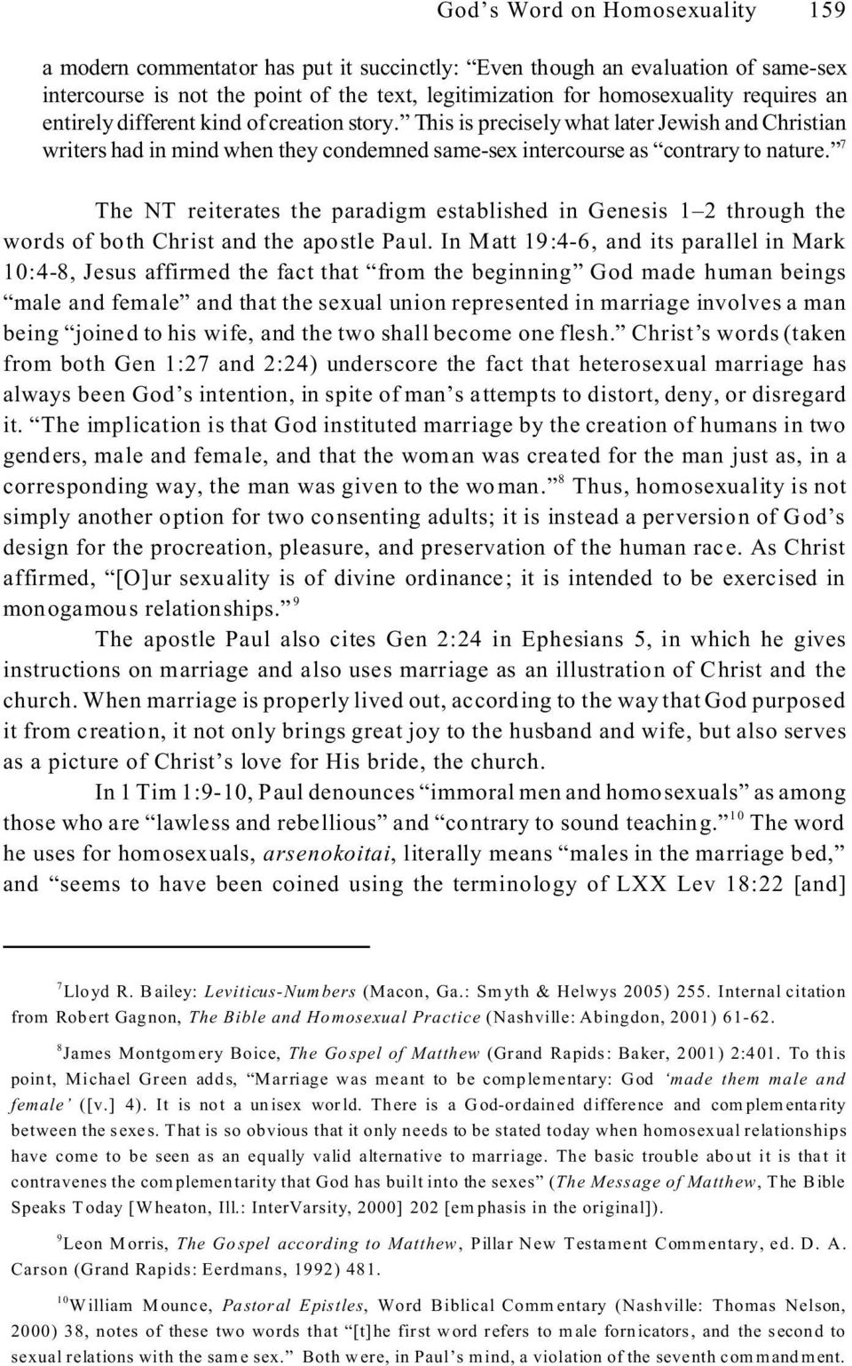 God s words on homosexuality and christianity