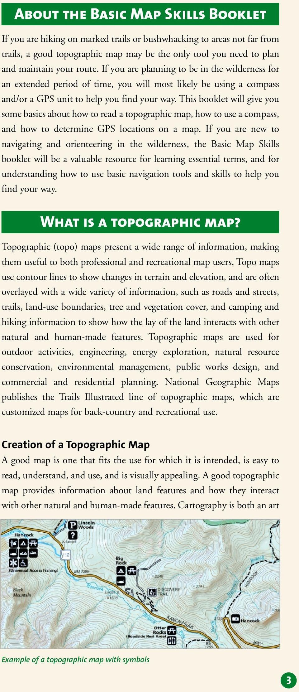 Basic Map Gps Skills How To Read A Topographic Map Use A Compass