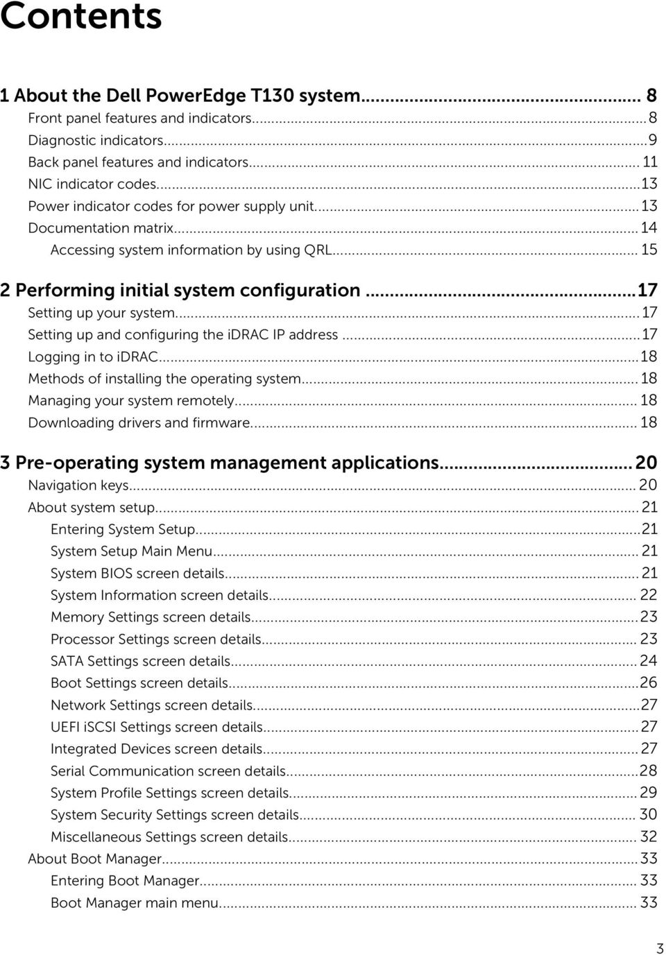 Dell PowerEdge T130 Owner's Manual - PDF