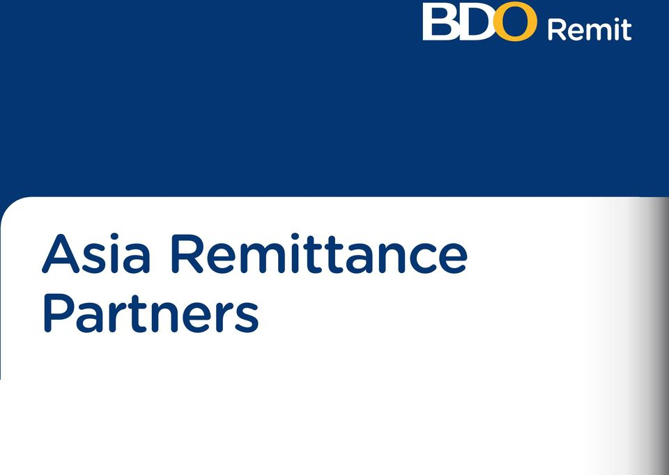 BDO Remit Offices  Subsidiary Offices Address Country ASIA  215